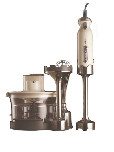 Kenwood kMix HB892 TriBlade Hand Blender, Almond  Cream