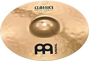 Meinl Cymbals CC10S-B Classics Custom Serie 25,40cm (10 Zoll) Splash Brilliant Finish Becken
