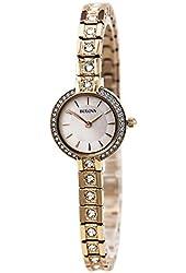 Bulova Ladies Crystal Bracelet Watch, 98L215