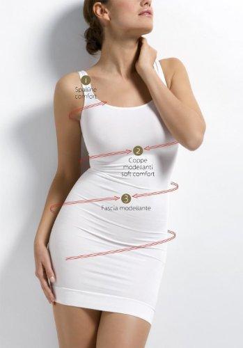 Sensi Sottoveste Modellante figurformend Unterkleid Miederkleid Shapewear Weiß jetzt kaufen