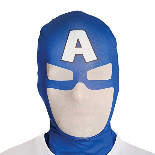 Adults Captain America Official Morphmask (Captain America Morphsuit compare prices)
