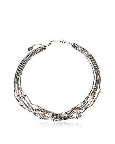Amrita Singh Collar Multi Chain Starburst Necklace
