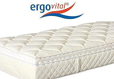 Ergovital Swissplus® Premium-Kaltschaum-Matratze, H3, Größen Matratzen:100 x 220 cm