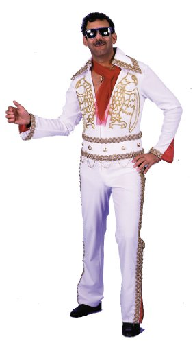 Rock and Roll Rock Star Costume Jumpsuit Las Vegas Headliner