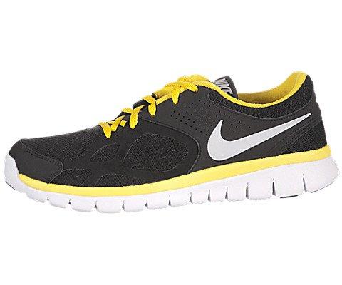 1f52d372eca8 Nike Flex 2012 RN Mens Running Shoes 512019 013 Black 9 M US ...