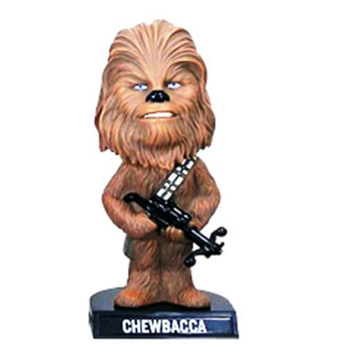 Buy Low Price Funko Chewbacca Bobble-head Figure (B0010B77QS)