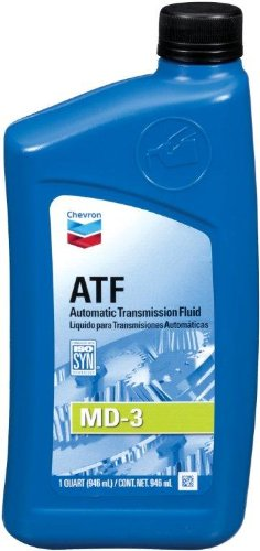 Chevron 39770-CASE MD-3 Automatic Transmission Fluid - 1 Quart, (Pack of 12)