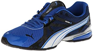 PUMA Men's Voltaic 5 Running Shoe,Princess Blue/Black/PUMA Silver,10.5 M US