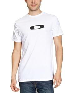 Oakley Herren T-Shirt Square O Tee, white, S, 452447OCBM