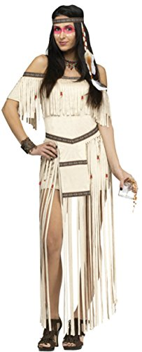 Funworld Womens Native American Indian Princess Moon Dancer Sexy Fancy Costume