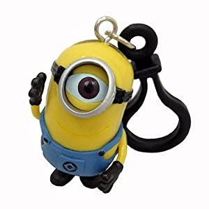 Despicable Me 2 Minion 3D Keyring