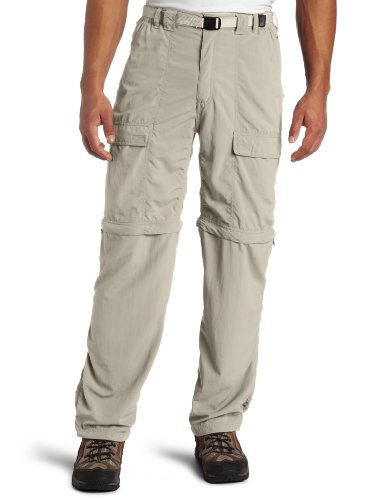 White Sierra Men's Trail 32-Inch Inseam Convertible Pant, X-Large, Stone (Columbia Zip Off Pants compare prices)