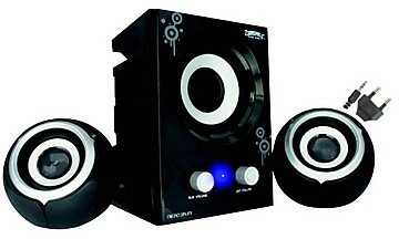 Zebronics Micro Drum 2.1 Channel Multimedia Speakers