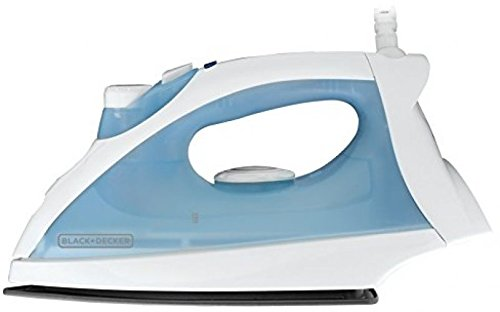 Steam Iron With Nonstick Soleplate, Black and Decker F210, New, NK (Rowenta Liquid Cleaner compare prices)