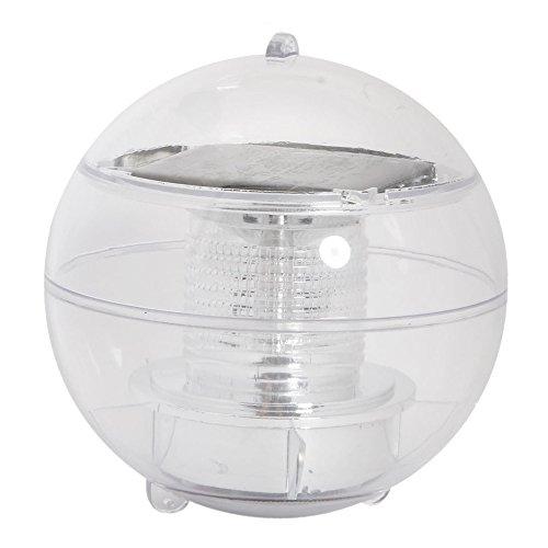 FireKingdom Sun Solar Power Globe Floating Waterproof LED Light Green Light For Garden Pond Christmas Swimming Pool Party