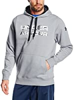 Under Armour Sudadera con Capucha Storm Rival Graphic Po (Acero)