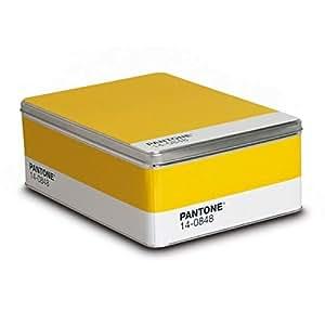 Pantone Metal Storage Box Mimosa
