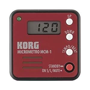 KORG コルグ クリップ・タイプ 電子メトロノーム MICROMETRO MCM-1RD レッド