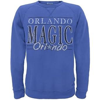 Orlando Magic - Distressed Classic Logo Crew Neck Sweatshirt by Old Glory