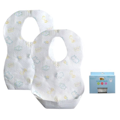Luvable Friends Disposable Bibs 24pk