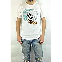 ジーアールエヌ(grn)GU421082R DISNEY ミッキーマウスプリントTEE ディズニー S/STEE 半袖Tシャツ