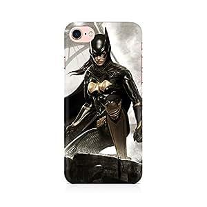 Batgirl Arkham City Back Cover Case for Apple iPhone 7