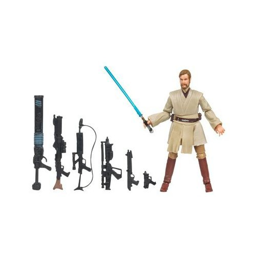 obi wan kenobi star wars saga legends assortment figur (style and colors may vary) - 1