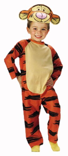 Winnie the Pooh Tigger Disney Costume Child Size S Small T Toddler 2T-4T