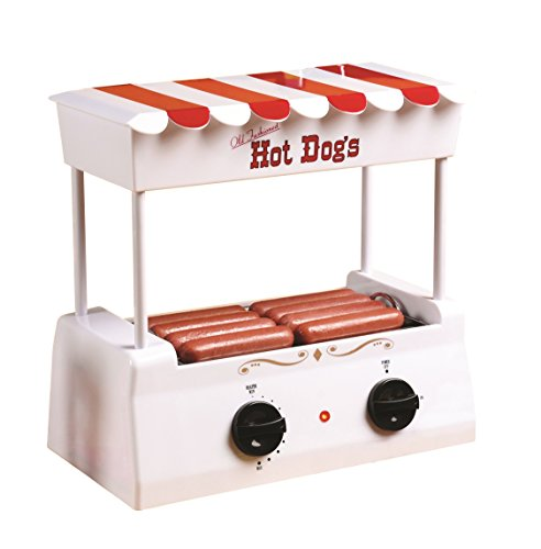 Nostalgia HDR565 Vintage Collection Hot Dog Roller with Bun Warmer (Electric Bun Warmer compare prices)