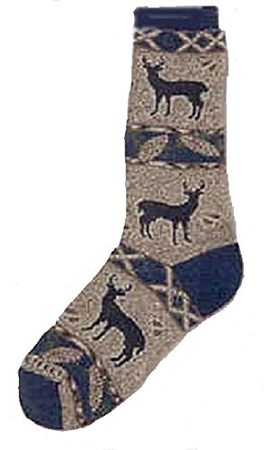 For Bare Feet Deer Pinecone Socks size 6-10 (Dog Cone Socks compare prices)