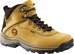 Timberland Men\'s White Ledge Mid Waterproof Boots, Wheat, 12W