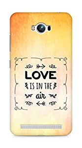 Amez Love is in the Air Back Cover For Asus Zenfone Max ZC550KL