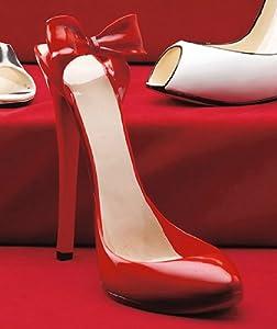 Shoe Wine Bottle Holder - Red