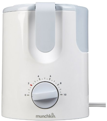 Munchkin Time Saver Bottle Warmer, White