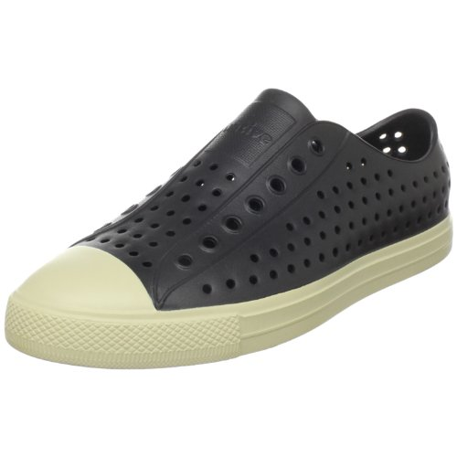 Native Unisex Jefferson Slip-On Sneaker, Jiffy Black, 13 M (D) Men's/15 M (B) Women's