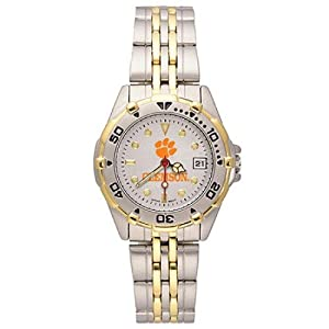 NSNSW21966Q-Ladies All Star Clemson University Watch - Stainless by NCAA Officially Licensed