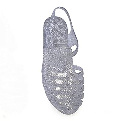 Womens/Ladies Jelly Gladiator Sandals