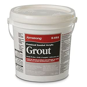 Premixed Sanded Acrylic Grout 1 Gallon Color Sandalwood