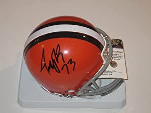 Joe Thomas Signed Autographed Cleveland Browns Mini Helmet Authentic Certified Coa