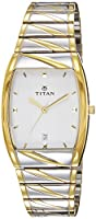 Titan Karishma Analog White Dial Men's Watch - NE9315BM01A