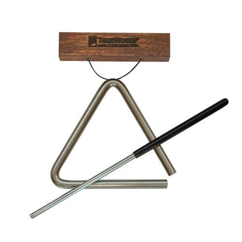 Treeworks Chimes Tre-Hs05 Studio-Grade 5 Inch Triangle With Beater And Triangle Holder