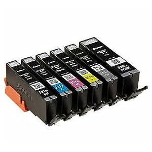 【クリックで詳細表示】キヤノン 【メーカー直送品】Canon 純正インクタンク BCI-351XL(BK/C/M/Y/GY)+BCI-350XL 6色マルチパック(大容量) BCI-351XL+350XL/6MP: パソコン・周辺機器