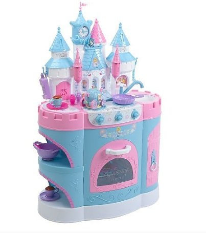 disney princess cinderella magical talking kitchen playset