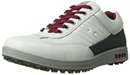 ECCO Men\'s Street EVO One Golf Shoe,White/Dark Shadow,46 EU/12-12.5 M US