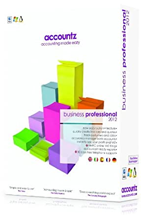Business Accountz Professional 2012 (PC/Mac/Linux)