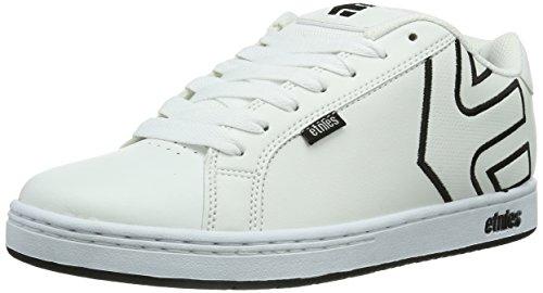 Etnies Men's Fader Skate Shoe,White/White/White,12