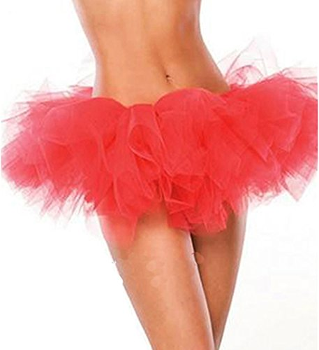 Ecool Women's Sexy Gauze Tutu Skirt For Corset