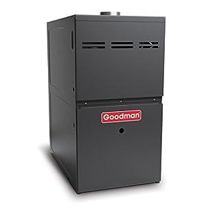 Goodman GMH80804BN Gas Furnace, Two-Stage Burner/Multi-Speed Blower, Upflow/Horizontal - 80,000 BTU