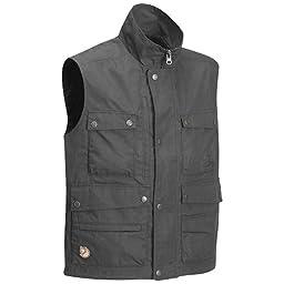 Fjallraven Men\'s Reporter Lite Vest, Dark Grey, Small