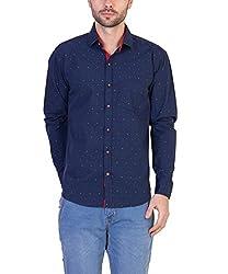 Threadikshion Men's casual shirt tdnbp01_Blue_Medium